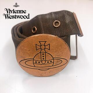 Vivienne Westwood - 未使用 レア ヴィヴィアンウエストウッド スチール製 メッシュベルト オーブ
