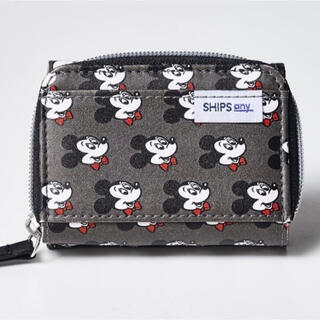 シップス(SHIPS)の◆mini◆3月号 付録 ミッキーマウス オトナの優秀ミニ財布(財布)