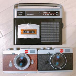 カルディ(KALDI)のKALDI カメラ缶 チョコレート 3点セット(菓子/デザート)