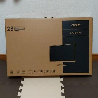 エイサー(Acer)の【新品 】Acer モニター 23型 SA230Abiフレームレス6.6mm薄型(ディスプレイ)