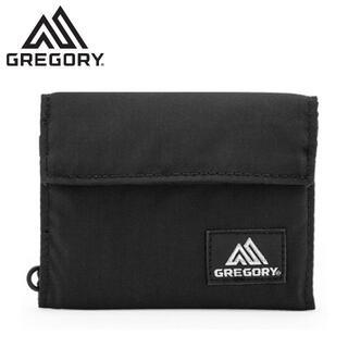グレゴリー(Gregory)のGREGORY クラシックワレット 折り財布 ブラック 65481-1041(折り財布)