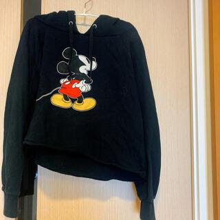 ディズニー(Disney)のミッキー パーカー 耳付き(パーカー)