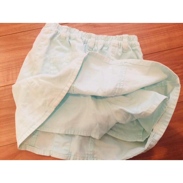 repipi armario(レピピアルマリオ)の美品♪レピピアルマリオ ケミカルカコウスカパン XS 女の子 スカート キッズ/ベビー/マタニティのキッズ服女の子用(90cm~)(スカート)の商品写真