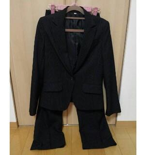 ニッセン(ニッセン)のレディース スーツ セットアップリクルート パンツスーツ7号(スーツ)