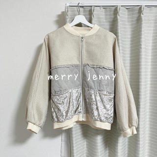 メリージェニー(merry jenny)のmerry jenny ブルゾン(ブルゾン)