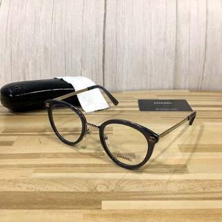 シャネル(CHANEL)のシャネル メガネ グレーフレーム ココマーク2132(サングラス/メガネ)