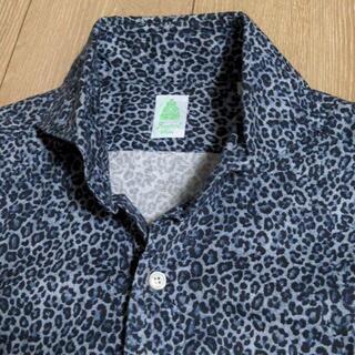 FINAMORE - (美品)Finamore 上質なワイドカラーシャツ 定価3.5万円