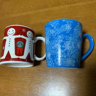 スターバックスコーヒー(Starbucks Coffee)の値下げします!スターバックス マグカップ 2個セット(食器)