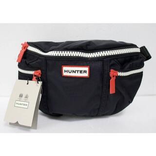 ハンター(HUNTER)の定価6600 新品 本物 HUNTER 黒 ボディ ウエスト バッグ 2009(ボディバッグ/ウエストポーチ)