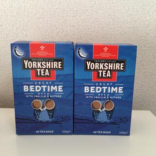 ヨークシャーティー ベッドタイム 2箱(デカフェ)(茶)