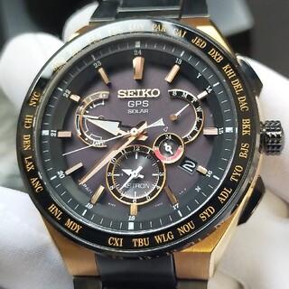 セイコー(SEIKO)の最終値下げ❗アストロン SBXB126 エグゼクティブライン ブラック&ゴールド(腕時計(アナログ))