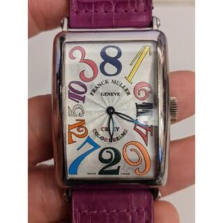 フランクミュラー(FRANCK MULLER)の① フランクミュラー クレイジーカラードリーム 18kWG(腕時計(アナログ))