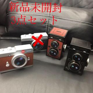 カルディ(KALDI)の未開封 カルディ カメラ缶チョコレート菓子セット3セット(菓子/デザート)