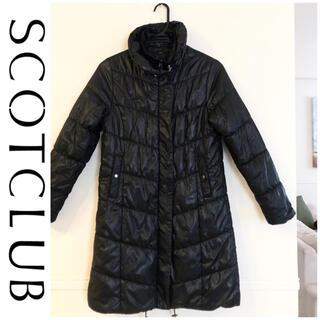 スコットクラブ(SCOT CLUB)の【スコットクラブ購入】中綿ダウンコート/ブラック(黒)(ダウンコート)