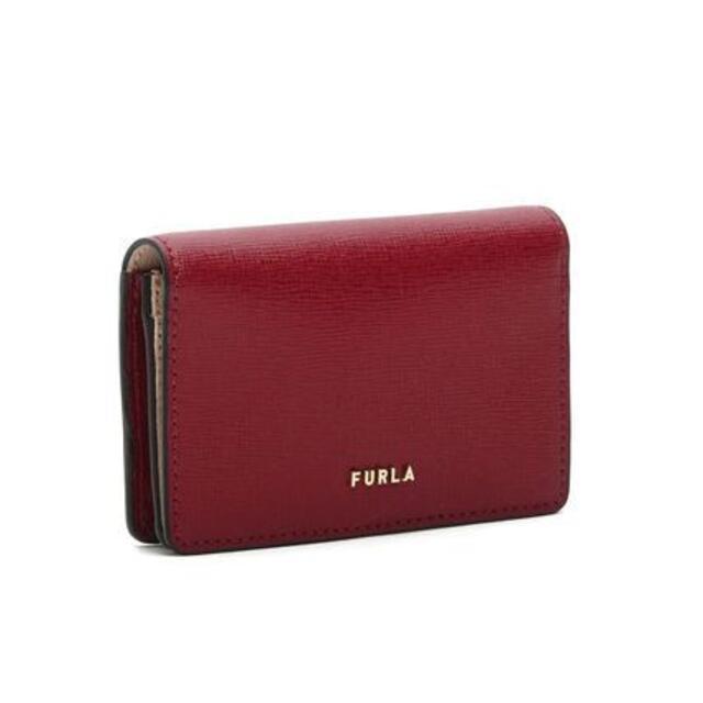 Furla(フルラ)の☆送料無料☆FURLA BABYLON カードケース CILIEGIA d レディースのファッション小物(パスケース/IDカードホルダー)の商品写真