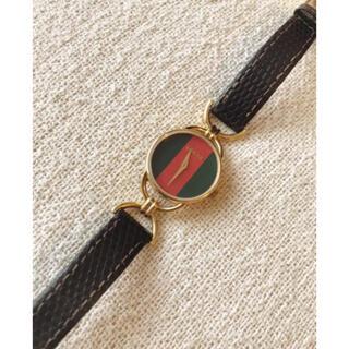 グッチ(Gucci)のGUCCIグッチシェリーラインクォーツ6000.2.Lアナログ腕時計(腕時計)
