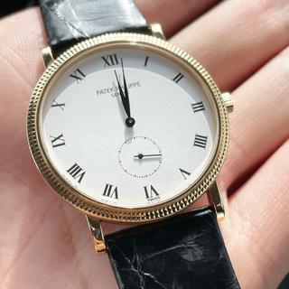 パテックフィリップ(PATEK PHILIPPE)の美品 パテックフィリップ カラトラバ 3919j  PATEK PHILIPPE(腕時計(アナログ))