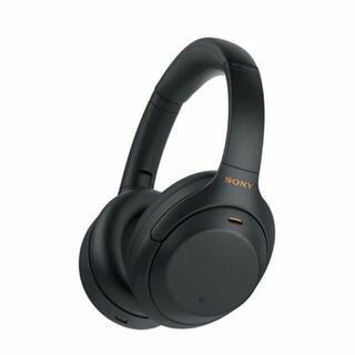 ソニー(SONY)のSONY WH-1000X M4 ブラック (ヘッドフォン/イヤフォン)