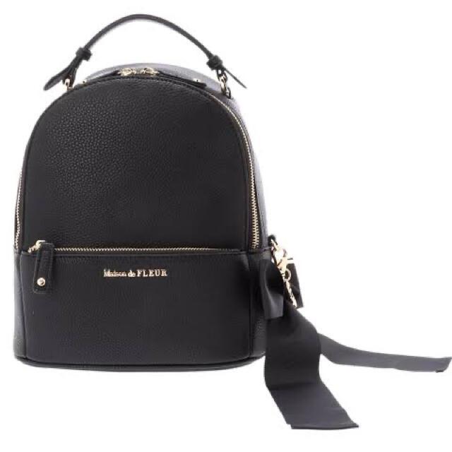 Maison de FLEUR(メゾンドフルール)の【Maison de FLEUR】ミッキーコラボリュック レディースのバッグ(リュック/バックパック)の商品写真
