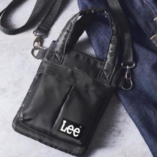 リー(Lee)のスマート付録 Lee ミニショルダーバッグ(ショルダーバッグ)