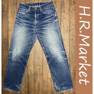 ハリウッドランチマーケット(HOLLYWOOD RANCH MARKET)のHRM ストレートデニム 31/エイチアールエム、赤耳、セルビッジ(デニム/ジーンズ)