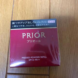 プリオール(PRIOR)の資生堂 プリオール 美つやアップおしろい レフィル ピンク(9.5g)(フェイスパウダー)