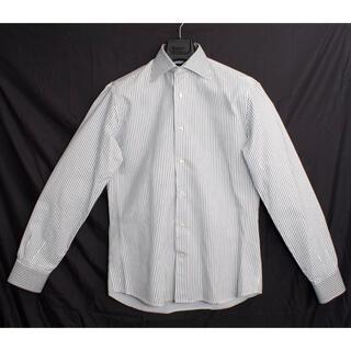 エトロ(ETRO)の[美品] エトロ  ETRO 高級 ストライプシャツ ブラウス 長袖 サイズ39(シャツ)