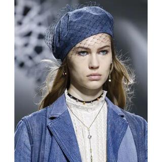 クリスチャンディオール(Christian Dior)の中古 クリスチャン ディオール  ハット ハンチング デニム ベレー帽 dior(ハンチング/ベレー帽)