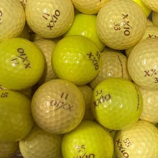 ダンロップ(DUNLOP)のロストボール ゼクシオ 混合 イエロー系 50球 AB(その他)