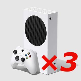 エックスボックス(Xbox)のMicrosoft  Xbox Series S 3台(家庭用ゲーム機本体)