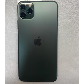 iPhone - iphone 11 Pro Max ミードナイトグリン 64Gb Simフリー
