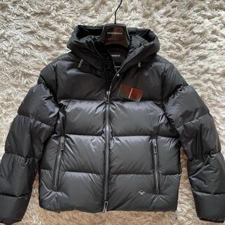 エンポリオアルマーニ(Emporio Armani)のENPORIO ARMANI ダウンジャケット ブラック 46サイズ(ダウンジャケット)
