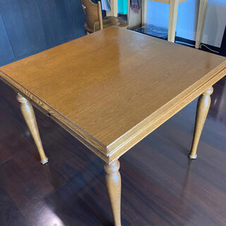 アクタス(ACTUS)の伸長式 ダイニングテーブル(ダイニングテーブル)