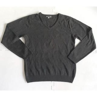 ニッセン(ニッセン)のnissen メンズ Vネックセーター(ニット/セーター)