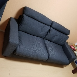 ムジルシリョウヒン(MUJI (無印良品))の無印良品 2.5シーター ダウンフェザーシート(二人掛けソファ)
