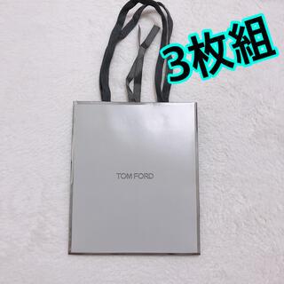TOM FORD - 3枚セット TOM FORD トムフォード ショッパー 紙袋