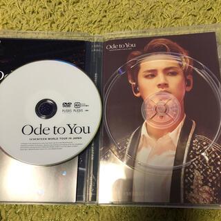 セブンティーン(SEVENTEEN)のSEVENTEEN <ODE TO YOU> IN JAPAN DVD ミンギュ(アイドル)