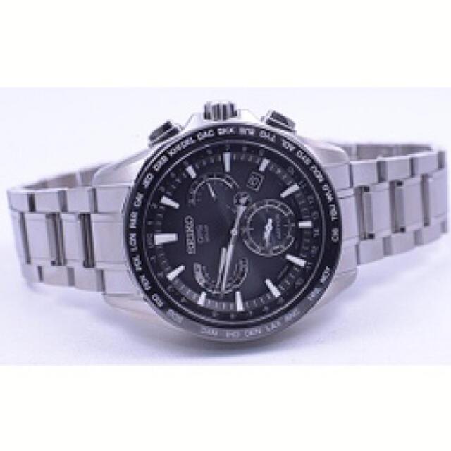 SEIKO(セイコー)のセイコー アストロン GPS ソーラー衛星電波 メンズ 腕時計 メンズの時計(腕時計(アナログ))の商品写真