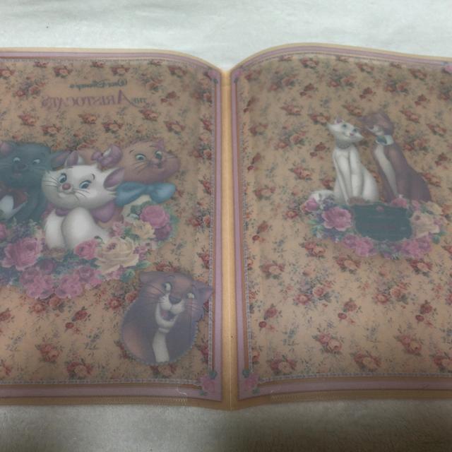 Disney(ディズニー)のディズニー マリーちゃん 2ファイル エンタメ/ホビーのアニメグッズ(クリアファイル)の商品写真