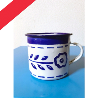 🇺🇸antique ホーローマグカップ(グラス/カップ)