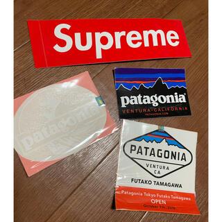パタゴニア(patagonia)のステッカー Patagonia Supreme  公式(ステッカー)