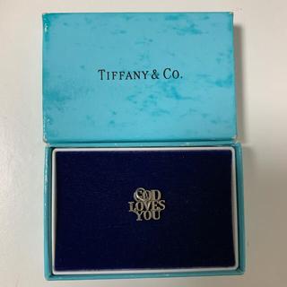 "Tiffany & Co. - 【美品】ヴィンテージティファニー ""GOD LOVES YOU"""