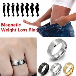 ダイエットリング 指輪 シンプル 16号 内径18mm(エクササイズ用品)