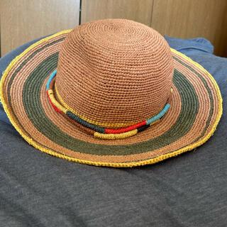ヴィヴィアンウエストウッド(Vivienne Westwood)の新品・未使用!Vivienne Westwood 麦わら帽子 (麦わら帽子/ストローハット)