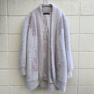 グリモワール(Grimoire)の80's Embroidered angola cardigan(カーディガン)