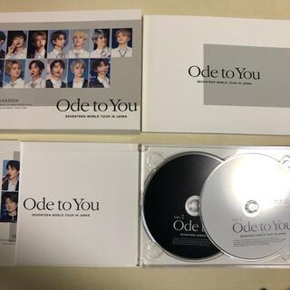 セブンティーン(SEVENTEEN)のSEVENTEEN  <ODE TO YOU> 初回限定盤 Blu-ray(アイドル)