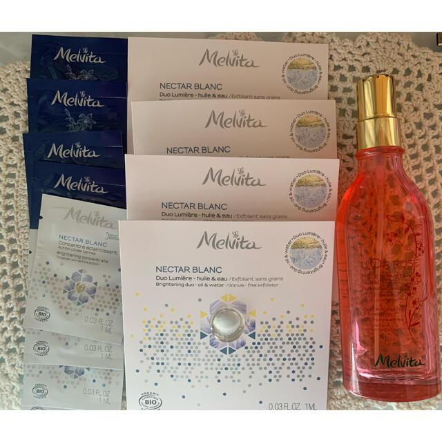 Melvita(メルヴィータ)のメルヴィータ ロルロゼブリリアントボディオイル コスメ/美容のボディケア(ボディオイル)の商品写真