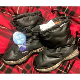 ウォークマン(WALKMAN)のワークマン 新品!防寒ブーツ 氷雪耐滑ケベックNEO M 24.5 24 25(ブーツ)