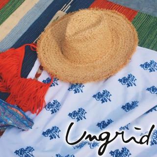 アングリッド(Ungrid)のUngrid♡フリンジHAT 即完売商品(ハット)