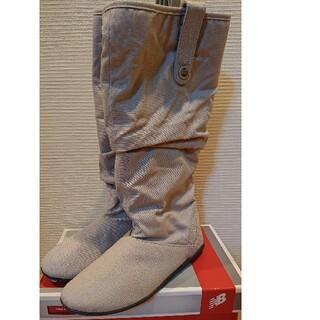 アディダス(adidas)の⭐新春セール⭐adidasアディダス キャンバスブーツ グレー 未使用新品(ブーツ)